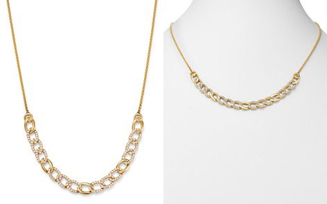 Bloomingdale's Diamond Chain Bolo Necklace in 14K Yellow Gold, 1.50 ct. t.w. - 100% Exclusive_2