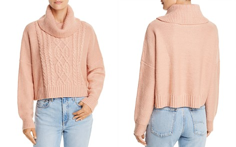 Jack by BB DAKOTA Say Anything Cropped Cable-Knit Sweater - 100% Exclusive - Bloomingdale's_2