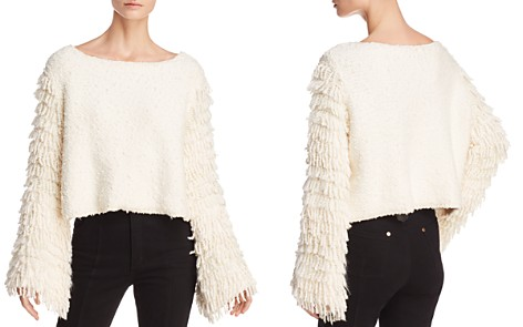 Alice McCall On Fire Fringe-Sleeve Sweater - Bloomingdale's_2