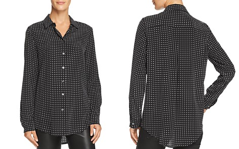 Equipment Essential Dotted Silk Shirt - Bloomingdale's_2