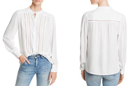 AQUA Crochet-Inset Blouse - 100% Exclusive - Bloomingdale's_2