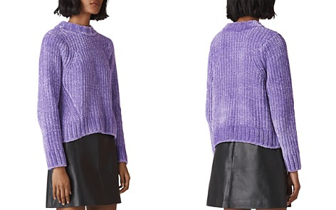 Whistles Cropped Chenille Sweater - Bloomingdale's_2