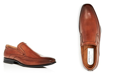 Kenneth Cole Men's Extra Official Leather Square Toe Loafers - Bloomingdale's_2