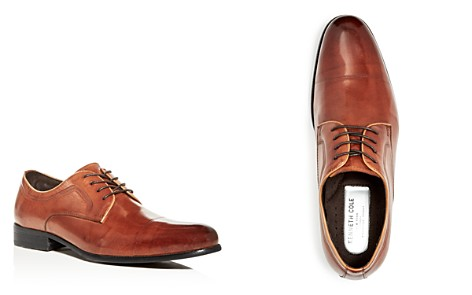 Kenneth Cole Men's Chief Leather Cap Toe Oxfords - Bloomingdale's_2