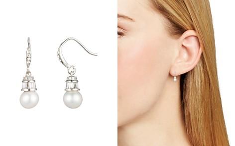 Carolee Cultured Freshwater Pearl & Baguette Drop Earrings - Bloomingdale's_2