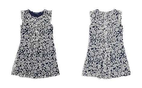 Polo Ralph Lauren Girls' Floral Chiffon Dress - Little Kid - Bloomingdale's_2