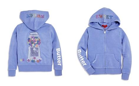 Butter Girls' Embellished Fleece Gumball Hoodie, Little Kid - 100% Exclusive - Bloomingdale's_2
