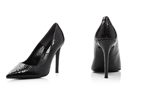 Charles David Women's Caleesi Pointed Toe Snake-Embossed Leather High-Heel Pumps - Bloomingdale's_2