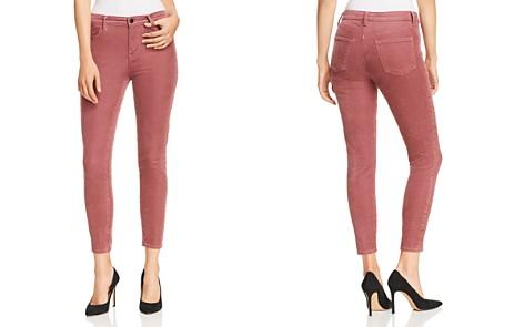 J Brand Alana Velvet Corduroy High Rise Jeans in Madame - Bloomingdale's_2