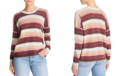 ATM Anthony Thomas Melillo Wool & Cashmere Striped Sweater - Bloomingdale's_2