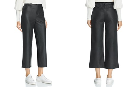 The Fifth Label Faux-Leather Cropped Pants - Bloomingdale's_2