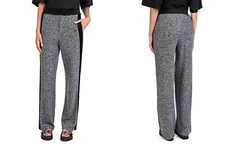 The Kooples Fleece Velvet-Stripe Sweatpants - Bloomingdale's_2