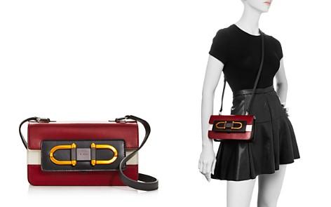 Furla Bellaria Mini Color-Block Leather Crossbody - Bloomingdale's_2