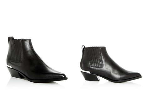 rag & bone Women's Westin Leather Western Low-Heel Booties - Bloomingdale's_2