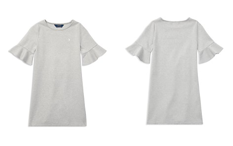 Polo Ralph Lauren Girls' Ponte Bell-Sleeve Shift Dress - Big Kid - Bloomingdale's_2
