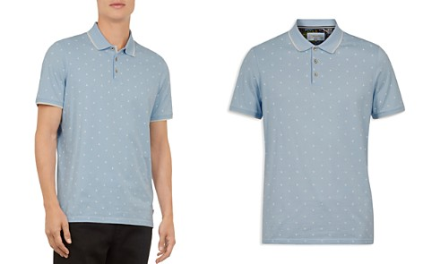 Ted Baker Dotie Printed Regular Fit Polo Shirt - Bloomingdale's_2