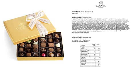 Godiva® 36 Piece Thank You Gold Gift Box - Bloomingdale's_2
