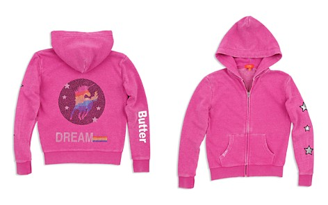 Butter Girls' Embellished Unicorn Fleece Hoodie - Little Kid, Big Kid - Bloomingdale's_2