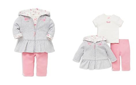 Little Me Girls' Bountiful Rose-Embroidered Ruffled Hoodie, Polka-Dot Tee & Leggings Set - Baby - Bloomingdale's_2