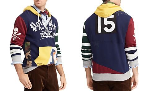 Polo Ralph Lauren Patchwork Rugby Hooded Sweatshirt - Bloomingdale's_2