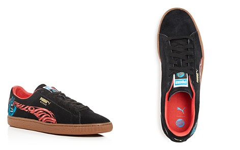 PUMA Men's Classic Santa Cruz Suede Lace Up Sneakers - Bloomingdale's_2