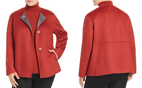 Lafayette 148 New York Plus Reversible Wool & Cashmere Jacket - Bloomingdale's_2