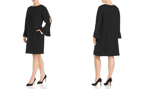 Lafayette 148 New York Plus Jorie Slit Flare-Sleeve Dress - Bloomingdale's_2