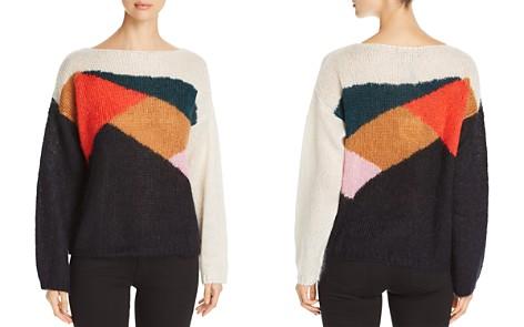 Burberry Color Block Drop Shoulder Sweater - Bloomingdale's_2