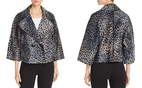 Elie Tahari Edna Cheetah-Print Calf Hair Jacket - Bloomingdale's_2