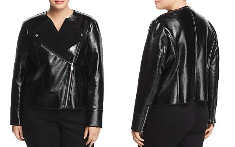 MICHAEL Michael Kors Plus Faux Shearling Jacket - Bloomingdale's_2
