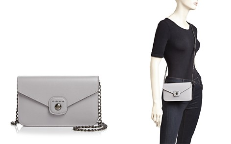 Longchamp Le Pliage Heritage Small Leather Convertible Crossbody - Bloomingdale's_2