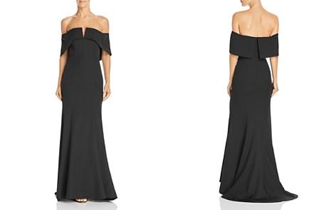 Jarlo Harlow Off-the-Shoulder Gown - 100% Exclusive - Bloomingdale's_2