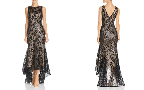 Eliza J High/Low Sequined Mermaid Gown - Bloomingdale's_2
