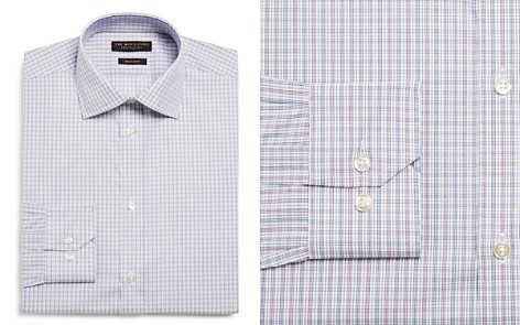 The Men's Store at Bloomingdale's Cross Check Regular Fit Dress Shirt_2