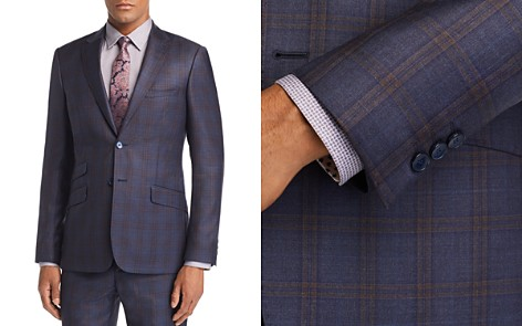 Ted Baker Fablomj Debonair Check Suit Jacket - 100% Exclusive - Bloomingdale's_2