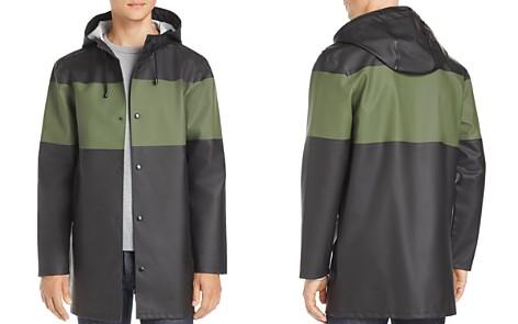 Stutterheim Stockholm Color-Block Rain Coat - 100% Exclusive - Bloomingdale's_2