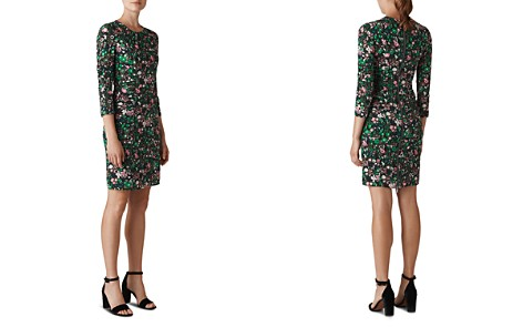 Whistles Adelaide Ruched Floral Dress - Bloomingdale's_2