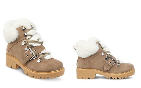 Kendall + Kylie Women's Edison Round Toe Leather Platform Booties - Bloomingdale's_2