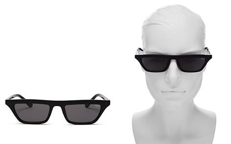 Quay Women's Finesse Slim Square Sunglasses, 55.5mm - Bloomingdale's_2