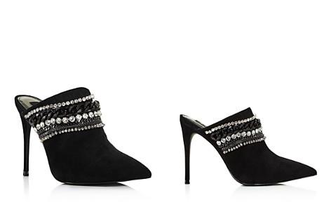 AQUA Women's Dare Embellished Suede High-Heel Mules - Bloomingdale's_2