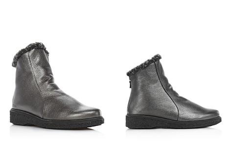 Arche Women's Joelys Metallic Leather & Faux-Fur Boots - Bloomingdale's_2