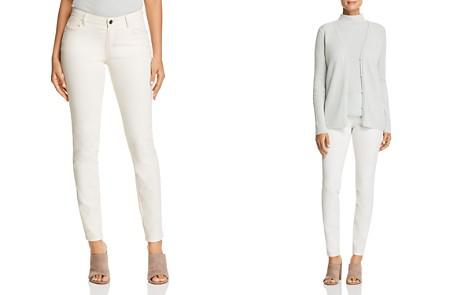 Lafayette 148 New York Mercer Skinny Jeans in Ecru - Bloomingdale's_2