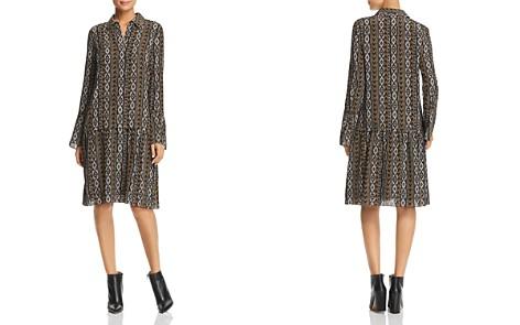 Lafayette 148 New York Sansa Printed Silk Shirt Dress - Bloomingdale's_2