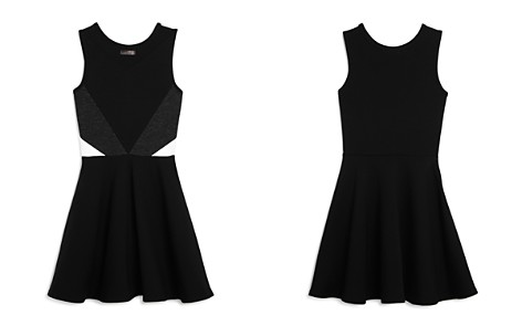 Sally Miller Girls' Cassie Color-Block Dress with Mesh Cutout - Big Kid - Bloomingdale's_2