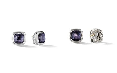 David Yurman Albion Stud Earrings in Sterling Silver with Black Orchid - Bloomingdale's_2