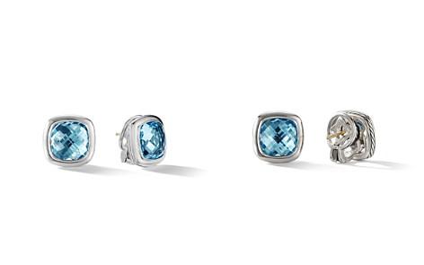 David Yurman Albion Stud Earrings in Sterling Silver with Sky Blue Topaz - Bloomingdale's_2