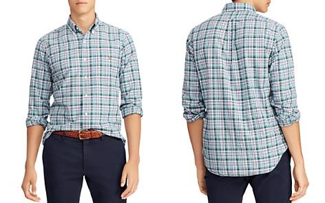 Polo Ralph Lauren Plaid Classic Fit Oxford Shirt - Bloomingdale's_2