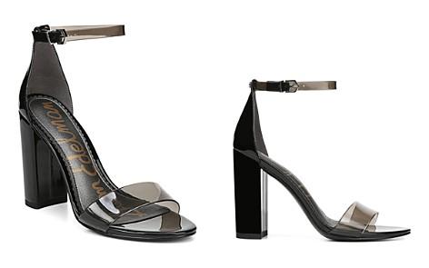 Sam Edelman Women's Yaro Sheer Ankle Strap High-Heel Sandals - Bloomingdale's_2
