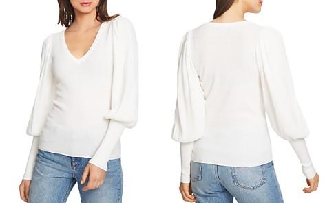 1.STATE Blouson Sleeve Sweater - Bloomingdale's_2