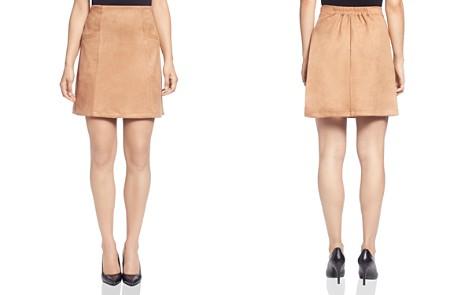 T Tahari Faux Suede Mini Skirt - Bloomingdale's_2